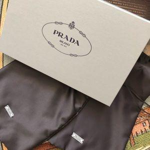 Prada Empty Shoe Box + Dust Bag
